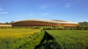 Estadio madera Paradela
