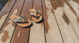 changlas sobre madera