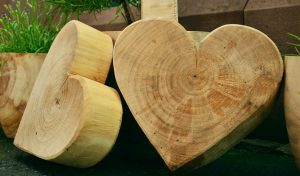corazón madera Paradela